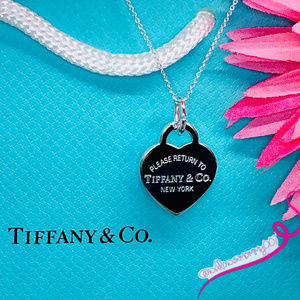 NWOT T&Co Return to Tiffany Heart Tag Pendant, 18""